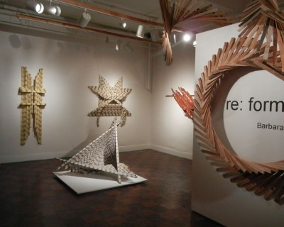 re: form  New work by Barbara Holmes (October 6th-November 4th, 2012)
