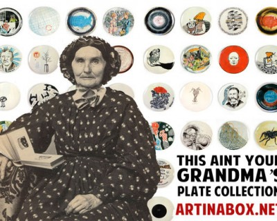 Limited Edition Ceramic Plate Series by Art in a Box
