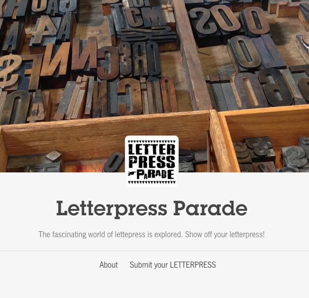 letterpress parade