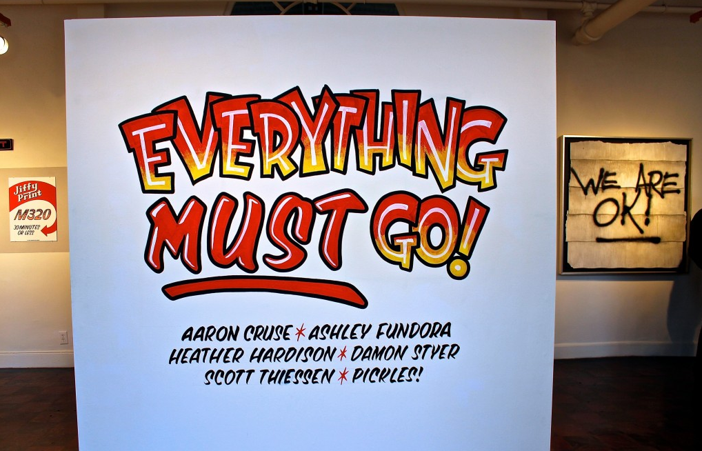 Everything Must Go! by Oakland Art Enthusiast