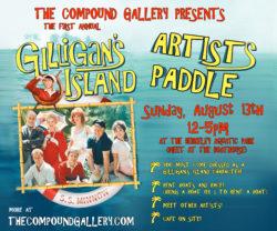 Gilligan's Island Artist Paddle
