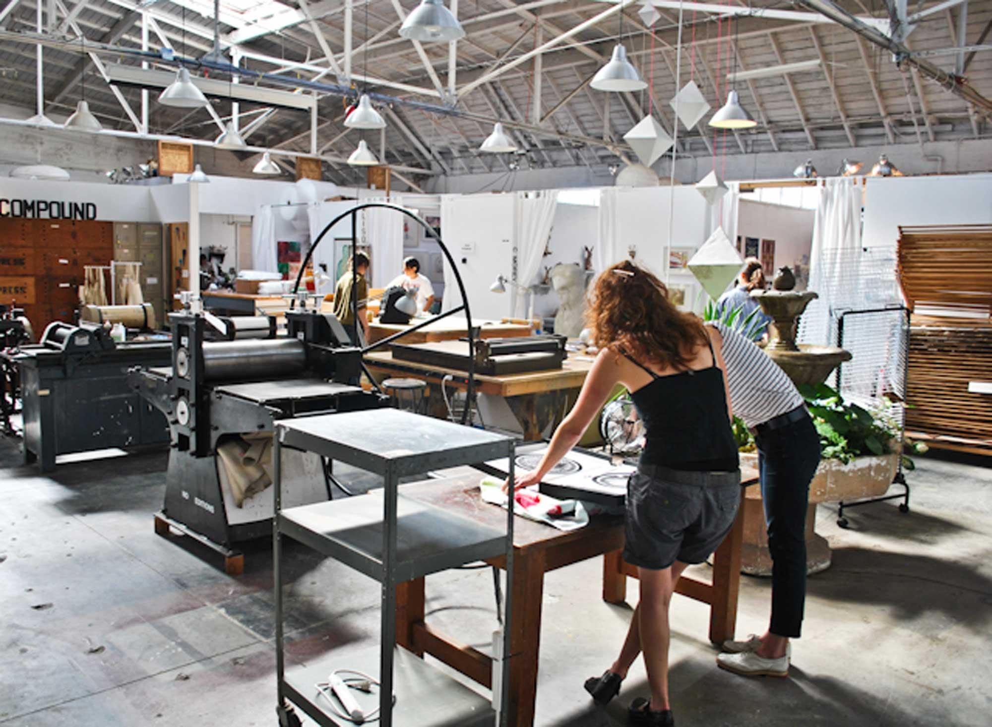 The Compound Gallery Interdisciplinary Art Residency Program
