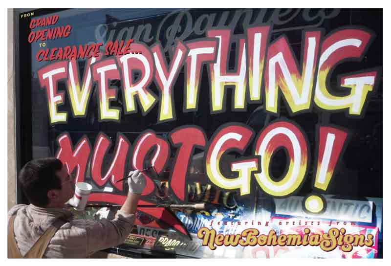 Everything Must Go! (August 9-September 14)