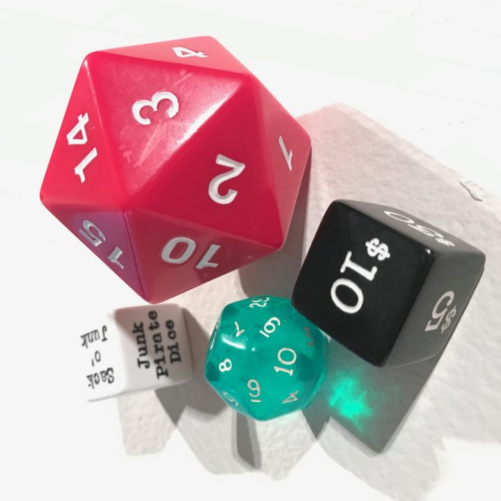 junk pirate dice